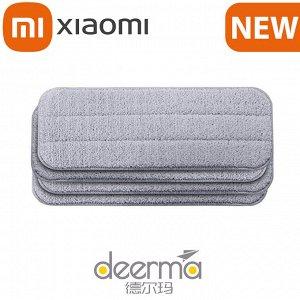 Сменные насадки для швабры с распылителем Xiaomi Mi Deerma Spray Mop / 4 шт.