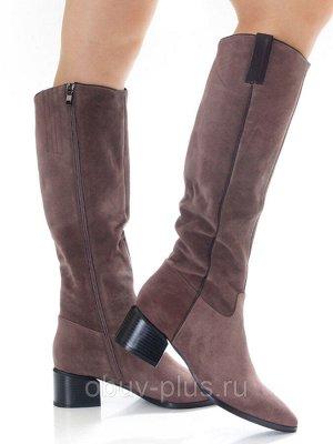 Сапоги Страна производитель: Китай Размер женской обуви x: 36 Полнота обуви: Тип «F» или «Fx» Сезон: Весна/осень Вид обуви: Сапоги Материал верха: Замша Материал подкладки: Текстиль Каблук/Подошва: Ка