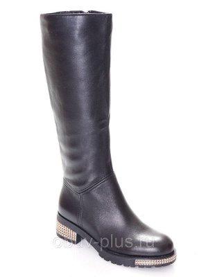 Сапоги Страна производитель: Китай Размер женской обуви x: 38 Полнота обуви: Тип «F» или «Fx» Сезон: Весна/осень Вид обуви: Сапоги Материал верха: Натуральная кожа Материал подкладки: Байка Каблук/Под