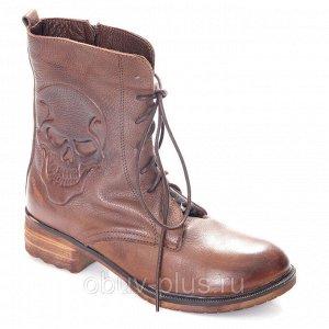 Ботинки Страна производитель: Турция Полнота обуви: Тип «F» или «Fx» Вид обуви: Ботинки Сезон: Зима Материал верха: Натуральная кожа Материал подкладки: Натуральный мех Каблук/Подошва: Каблук Высота к