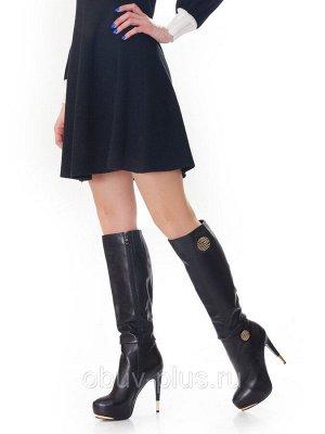 Сапоги Страна производитель: Китай Размер женской обуви x: 35 Полнота обуви: Тип «F» или «Fx» Сезон: Весна/осень Вид обуви: Сапоги Материал верха: Натуральная кожа Материал подкладки: Байка Каблук/Под