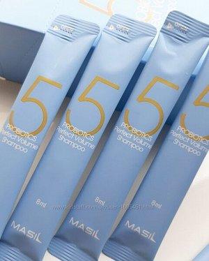 Шампунь для объема волос с пробиотиками Masil 5 Probiotics Perpect Volume Shampoo, 8ml