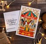Почтовая карточка Новогодняя 01