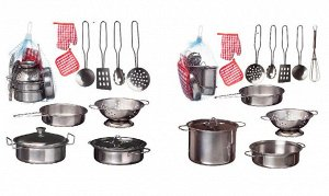 """Набор посуды металлической для кухни """"Помогаю Маме"""", 2 вида в коллекции19"""