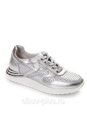 Кроссовки Страна производитель: Китай Размер женской обуви x: 36 Вид обуви: Кроссовки Пол: Женский Застежка: Шнуровка Цвет: Серебристый Материал верха: Натуральная кожа Материал подошвы: Резина Матери