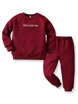 Свитшот для маленьких мальчиков и спортивные брюки для мальчиков