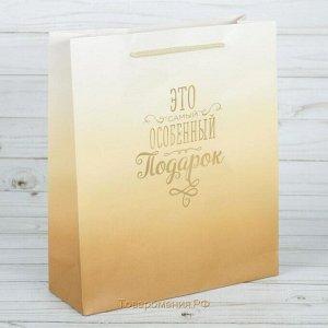 Пакет подарочный Особенный подарок