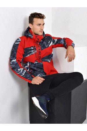Мужская куртка Evil Wolf 9913 (SINT) Красный