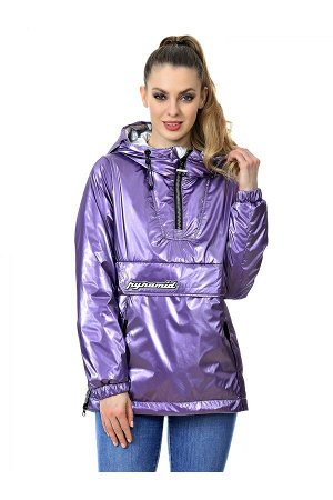 Женская куртка-анорак Grace Snow 5002_010 Сирень