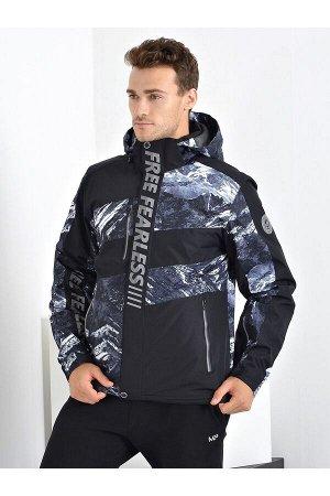 Мужская куртка Evil Wolf 9913 (SINT) Серый