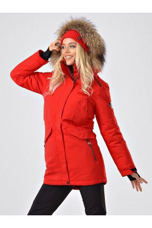Женская куртка-парка Azimuth B 20681_58 Красный