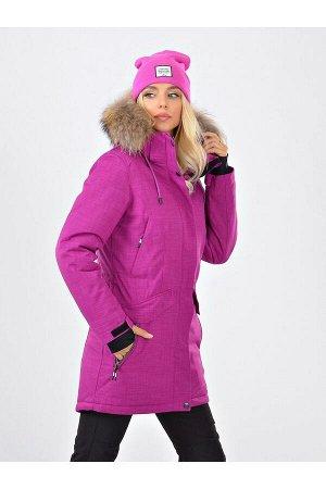 Женская куртка-парка Azimuth B 20681_59 Фуксия