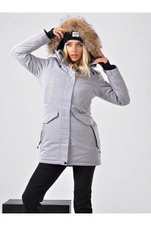 Женская куртка-парка Azimuth B 20681_60 Серый