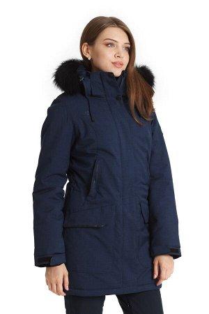 Женская куртка-парка Azimuth B 20635_126 Темно-синий