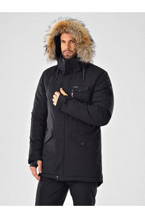 Мужская куртка-парка Azimuth A 20774_52 Черный