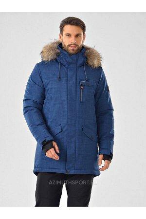 Мужская куртка-парка Azimuth A 20774_53 Джинс