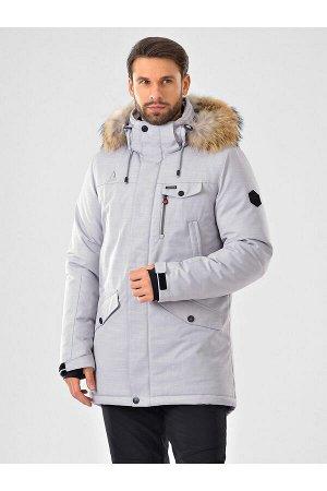 Мужская куртка-парка Azimuth A 20774_54 Светло-серый