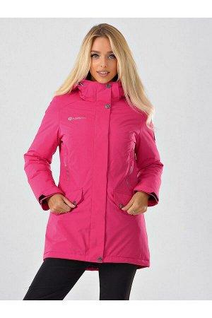 Женская куртка-паркa Azimuth B 20615_30 Фуксия