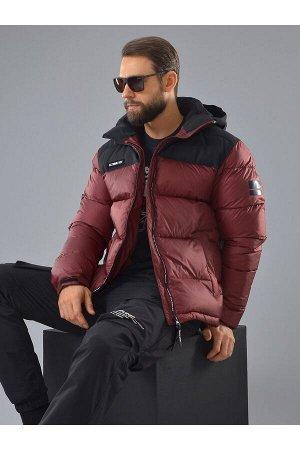 Mужская зимняя куртка Azimuth А 20550_4 Бордовый