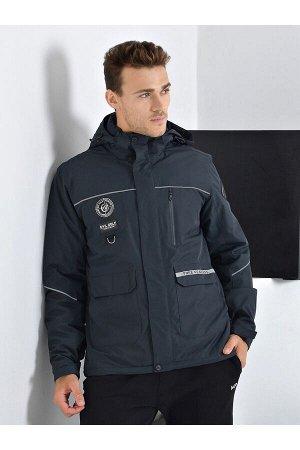 Мужская куртка Evil Wolf 9906 (SINT) Темно-серый