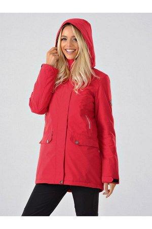 Женская куртка-парка Azimuth B 20615_32 Красный