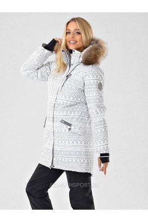 Женская светоотражающая куртка-парка Azimuth B 20850_18 Белый