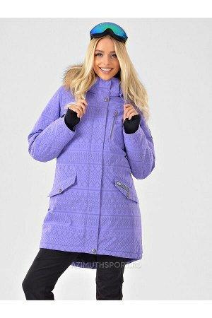 Женская светоотражающая куртка-парка Azimuth B 20850_19 Сиреневый