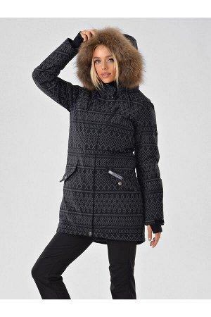 Женская светоотражающая куртка-парка Azimuth B 20850_20 Черный