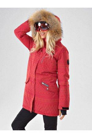 Женская светоотражающая куртка-парка Azimuth B 20850_21 Красный