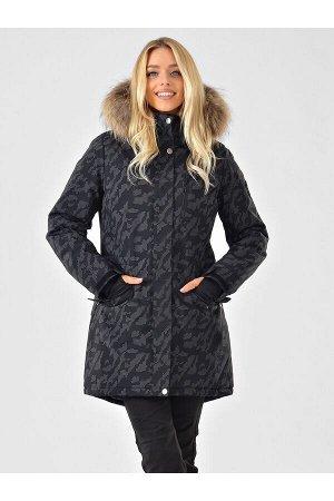Женская светоотражающая куртка-парка Azimuth B 20851_23 Черный