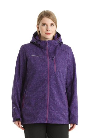 Женская парка-виндстоппер Azimuth B 20552_330 (БР) Фиолетовый