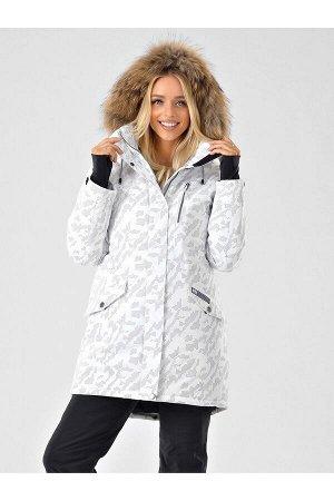 Женская светоотражающая куртка-парка Azimuth B 20851_24 Белый