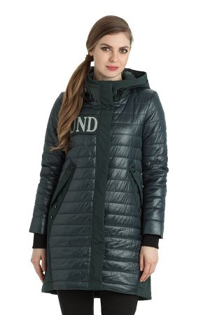 Женское пальто Alpha Endless 1093 Изумруд