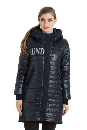 Женское пальто Alpha Endless 1093 Темно-синий