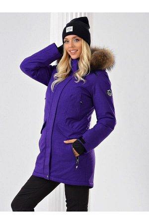 Женская куртка-парка Azimuth B 20681_56 Фиолетовый