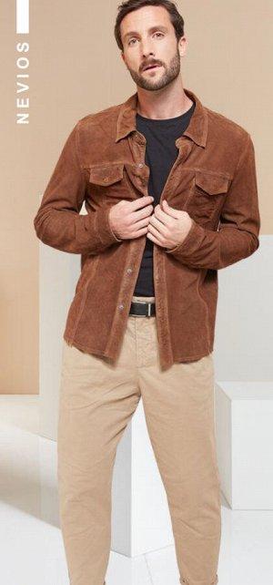 Куртка мужская  NEVIOS cognac