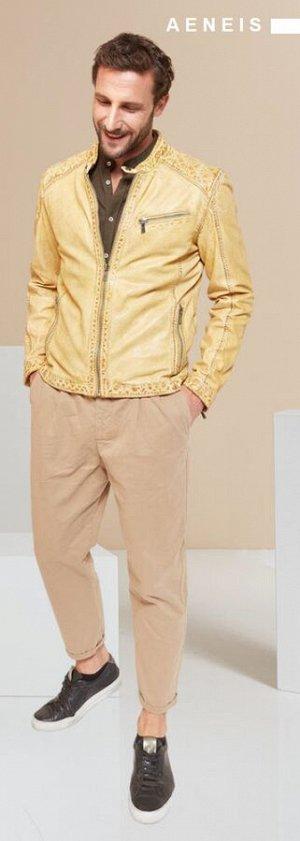 Куртка мужская AENEIS Deep Mustard