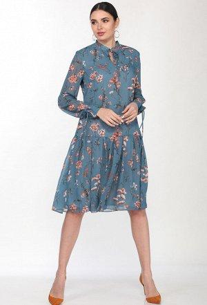 Платье Elletto 1798 синий