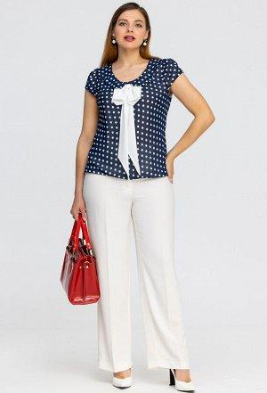 Блуза Amelia Lux 1033 синий