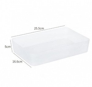 Ящик для хранения косметики и мелочей, цвет белый