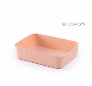 Ящик для хранения косметики и канцелярии, цвет розовый