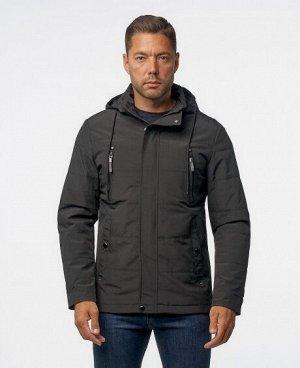 Куртка НОЧНОЙ СИНИЙ ТЕМНО-СИНИЙ ЧЕРНЫЙ  Мужская куртка, имеет два нагрудных кармана на молниях, два нижних боковых кармана на кнопках, два внутренних кармана (один из которых на молнии), отстегивающий
