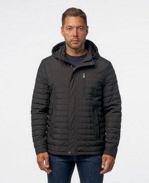 Куртка ТЕМНО-СИНИЙ ЧЕРНЫЙ Мужская куртка имеет; нагрудный карман на молнии - удобный для телефона и мелких предметов, четыре нижних боковых кармана (два на молниях, два на кнопках), один внутренний ка