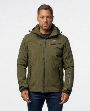 Куртка ЧЕРНЫЙ ТЕМНО-СИНИЙ СЕРЫЙ КРАСНЫЙ ТЕМНО-ЗЕЛЕНЫЙ ЗЕЛЕНЫЙ ЖЕЛТЫЙ СИНИЙ Стильная мужская куртка, два нагрудных кармана на молниях, два нижних боковых кармана на молниях, два внутренних кармана (оди