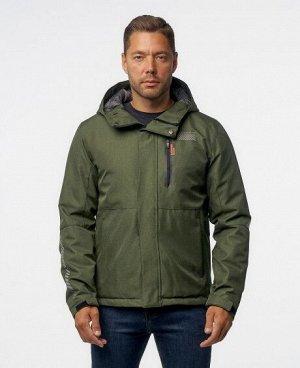 Куртка СЕРЫЙ ТЕМНО-СЕРЫЙ ЧЕРНЫЙ ЖЕЛТЫЙ ЗЕЛЕНЫЙ Стильная мужская куртка, два наружных боковых кармана на молниях, нагрудный карман на молнии - удобный для телефона и мелких предметов, два внутренних ка