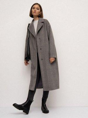 Пальто в клетку R086/picky