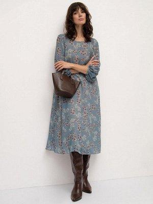 Платье а-силуэта PL1001/rainflow