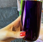 """Набор стаканов Glasstar """"Королевская фуксия"""" / 6 шт. 330 мл"""