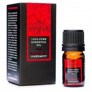 Эфирное масло Sharme Essential Грейпфрут, 5 мл Greenway®.