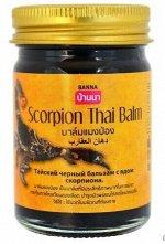 Banna Бальзам Тайский 50гр Cкорпион черный